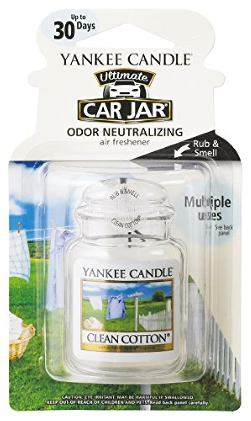 薄める電気的調整ヤンキーキャンドル ネオカージャーYANKEECANDLE  クリーンコットン 吊り下げて香らせるフレグランスアイテム
