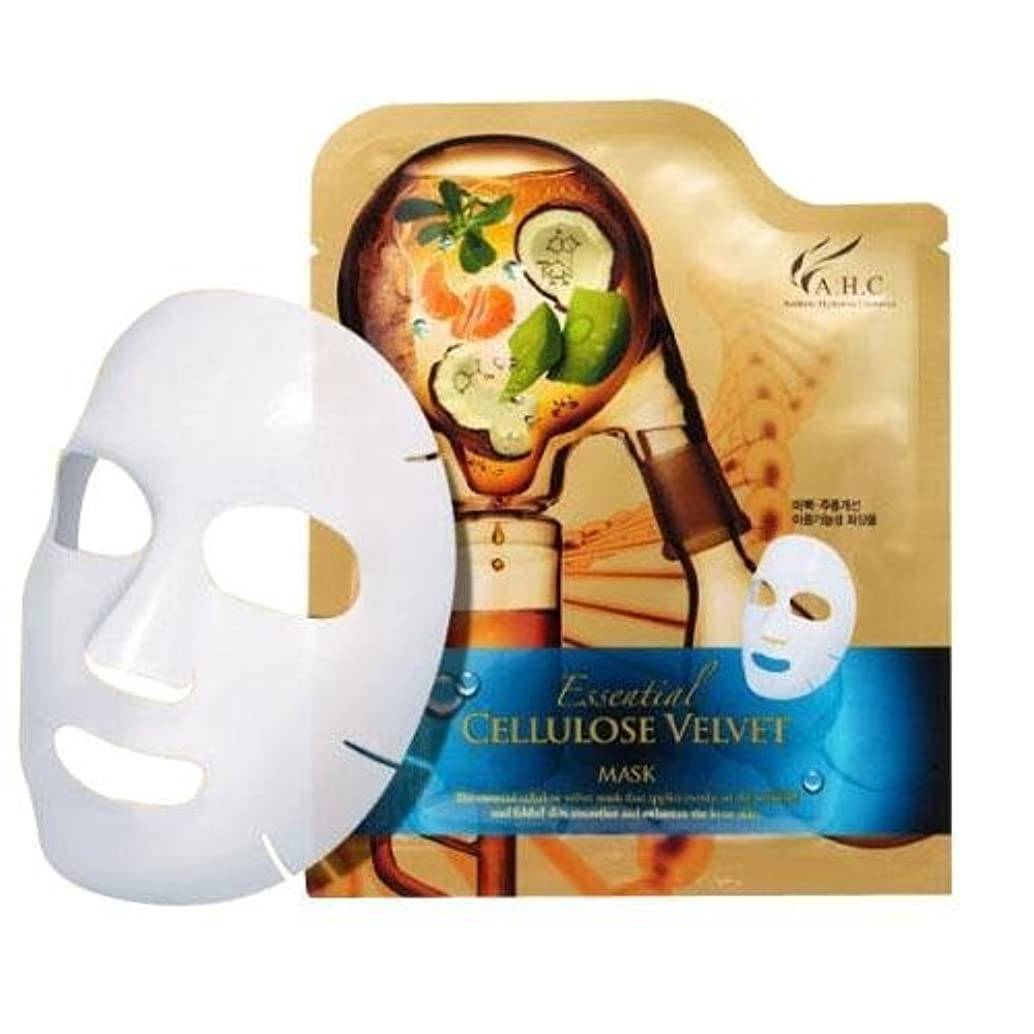 社説用量ネストA.H.C Essencial Cellulose Velvet Mask (30g*1EA)/ Made in Korea