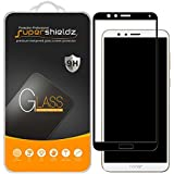 Supershieldz (2 Pack) for Huawei Honor 7X Tempered Glass Screen Protector, (Full Screen Coverage) 0.33mm, Anti Scratch, Bubbl