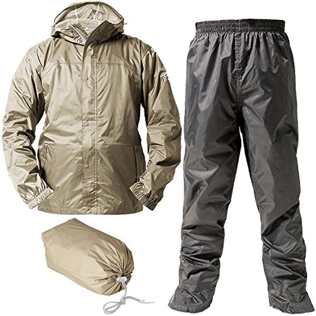極貧座るスキルマック レインスーツ アジャストマック バッグイン 防水透湿コーティング