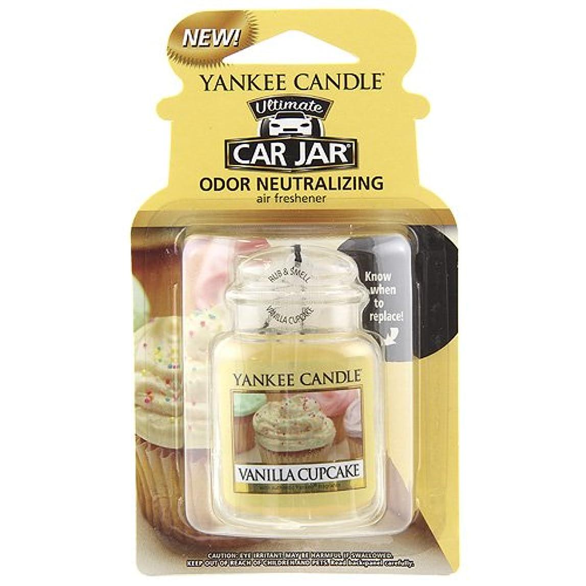 新しさマージガイダンスYankee Candle Small Tumbler Candle、バニラカップケーキ Car Jar Ultimate 1220923Z