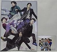 嵐 LIVE TOUR 2014 THE DIGITALIAN デジタリアン 公式 グッズ 2種 クリアファイル・超オリジナルフォトセット(集合)
