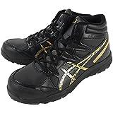 [asics working] 安全靴・作業靴  FCP105 9094 ブラック/ゴールド 26