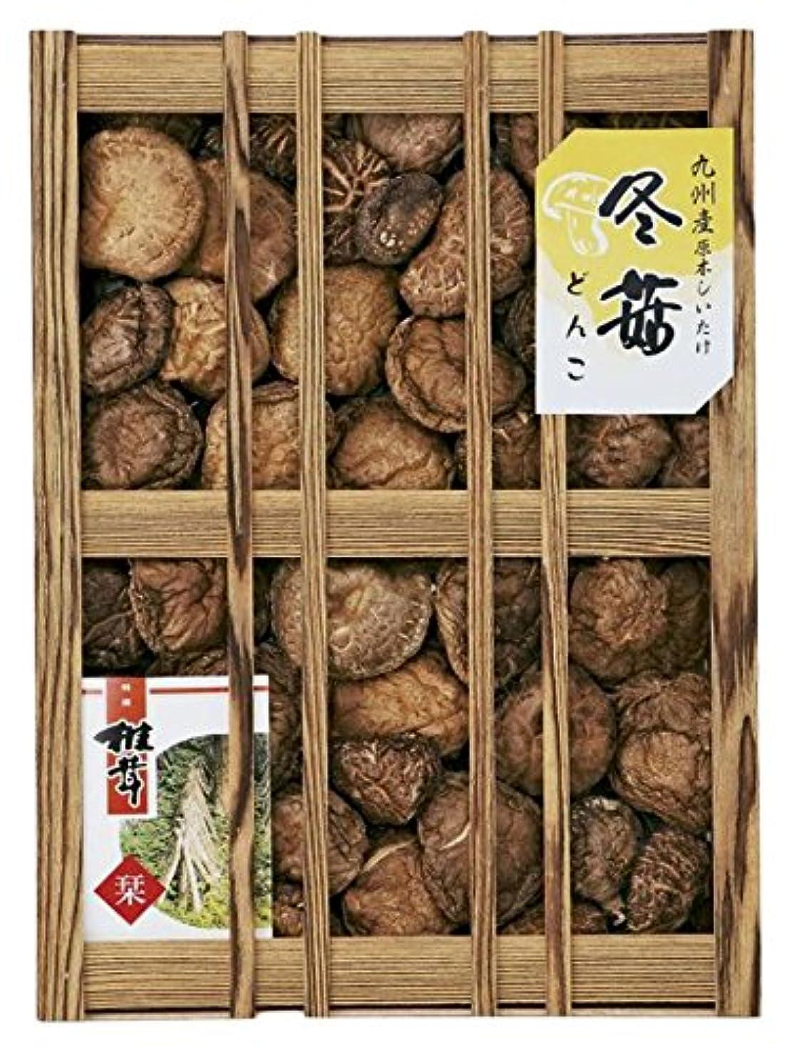 地球月曜日回路九州産原木どんこ椎茸(木箱入) B196-06