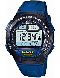 [カシオ]CASIO 腕時計 スポーツギア LAP MEMORY 60 W-734J-2AJF メンズ