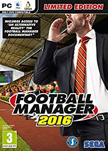 Football Manager 2016 LIMITED EDITION (PC DVD) (輸入版)