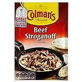 Colman's Beef Stroganoff Sauce Mix (39g) コールマンのビーフストロガノフソースミックス( 39グラム)