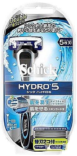 シック ハイドロ5 ダブルホルダー (替刃2コ付)