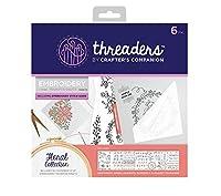 Threaders th-1148刺繍転送シート、マルチカラー