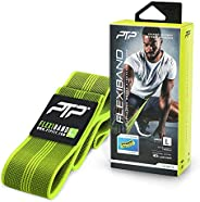 PTP FlexiBand Woven Stretching Loop for Flexibility, Lime, Large