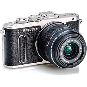 OLYMPUS ミラーレス一眼 E-PL8 EZ レンズキット ブラック