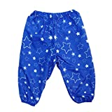 (ポスター) POSTAR 星柄レインパンツ ブルー 100cm