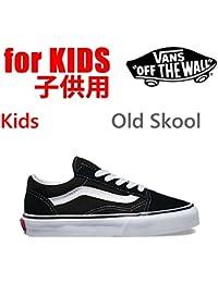 VANS(バンズ) バンズ 子供 靴 キッズ スニーカー KIDS オールドスクール ブラックホワイト VANS OLD SKOOL BLACK WHITE VANS スニーカー【C1】