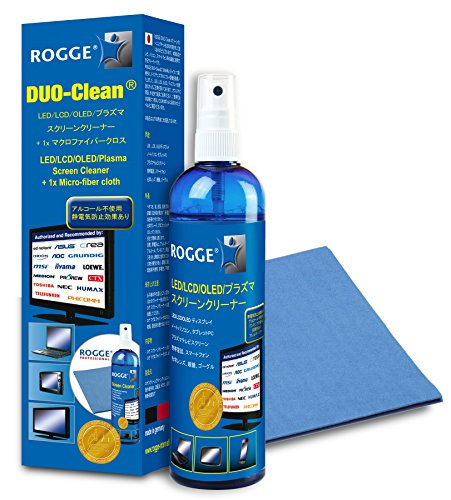 ROGGE DUO-Clean スクリーン クリーニングキット(250ml)