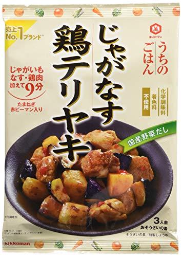 キッコーマン 食品 キッコーマン キッコーマン うちのごはん おそうざいの素 じゃがなす鶏テリヤキ 92g 1セット(3個)
