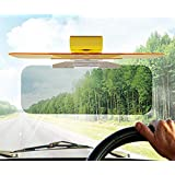 【HOZAN照明】車内装サンバイザー 昼夜両用 抗疲労 防紫外線 防眩ミラー ゴーグル 調整可能