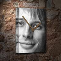BRADLEY JAMES - キャンバス時計(LARGE A3 - アーティストによる署名入り) #js012