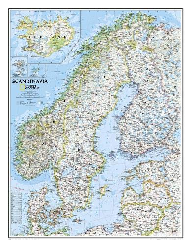Download Scandinavia Classic (National Geographic Reference Map) 0792292677