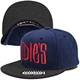 (ルーディーズ) RUDIE'S DRAWING WOOL SNAPBACKCAP (CAP)(HD0571-NV×GR) キャップ 帽子 スナップバック F ネイビー×グレー