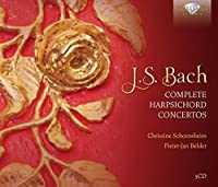 J.S.BACH/ COMPLETE HARPSICHORD CONC