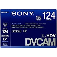 SONY PDV-124N/3 DVCAM/HDVテープ 124分 10本パック