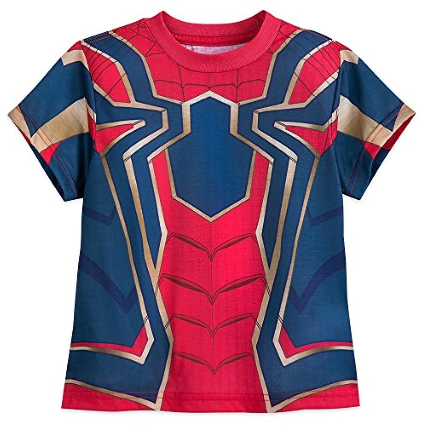 言い聞かせる呼び起こす専門知識ディズニー (Disney) スパイダーマン インフィニティ?ウォー なりきり Tシャツ コスチューム (US7/8) [並行輸入品]