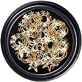 DYNWAVE ネイルアートスノーフレーク装飾ステッカー ネイル用品 スパンコール