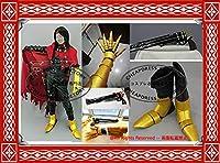 コスプレ衣装 +手甲+靴の鎧 ファイナルファンタジーVII FF7 ヴィンセント・ヴァレンタイン 風 全セット