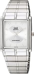 [シチズン キューアンドキュー]CITIZEN Q&Q 腕時計 アナログ クラシック 日常生活防水 ブレスレット シルバー QA80-201 メンズ