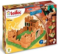 Teifoc 3400 - Large Castle - Build with real Bricks & Cement [並行輸入品]