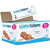 WaterWipes Sensitive and Newborn Skin Baby Wipes, Fragrance free, Super Value Box 9 Packs (540 Wipes)