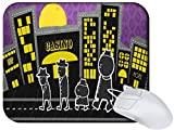 Amazon.co.jpSnoogg walking in front of the casino 2728 Non Slip Rubber Mouse Pad