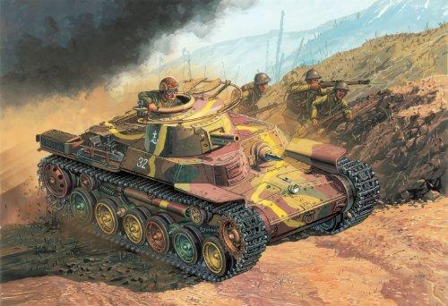 1/72  九七式中戦車 チハ 初期生産型