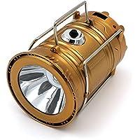 XMONY LEDランタン 高輝度500ルーメン LED懐中電灯 キャンプ 折り畳み式 携帯型ランタン ソーラー チャー ジランタン 防水 防災 登山 夜釣り ハイキング アウトドア適用