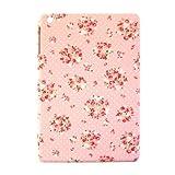 (iPad mini iPad mini Retina専用ケース/花柄)スマホの洋服屋オリジナルケース ローテローゼカルテットPK(タブレット ケース)