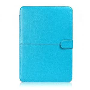 Termichy Light Weight Laptop Sleeve Case for Macbook Pro 15.4 Inch, Pu Leather Mac Case (Blue) by Termichy [並行輸入品]