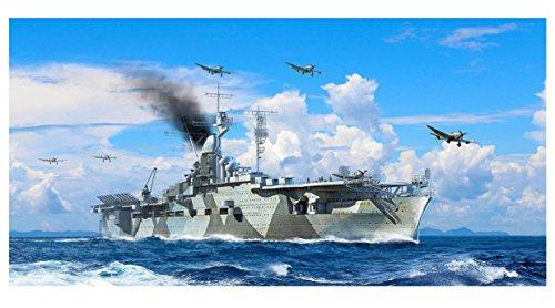 トランペッター 1/700 ドイツ海軍 航空母艦 グラーフ・ツェッペリン プラモデル 06709