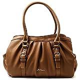 (フロレアーレ)floreale バッグ ハンドバッグ ショルダーバッグ 斜めがけ 2WAY 本革 レザー 婦人 鞄 [ブランド]flo515 (ブラウン(07))