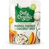 Only Organic Mango Chicken & Coconut Rice 10+ Months - 170g