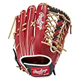 ローリングス(Rawlings) 野球用 軟式 HYPER TECH R2G COLORS [外野手用] サイズ12.5 GR1HTCB88 スカーレット/ネイビー サイズ 12.5 ※左投用