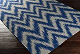 Surya Frontier FT-500 Hand Woven 100-Percent Wool Ikat and Suzani Accent Rug 3-Feet 6 by 5-Feet 6-Inch [並行輸入品]