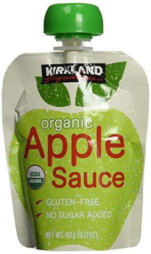 カークランド オーガニック アップルソース パウチ 90g×24個