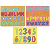 Chenille Kraft WonderFoam CK-4470 Magnetic Letters & Numbers 3-Puzzle Set [並行輸入品]