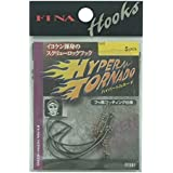 ハヤブサ(Hayabusa) シングルフック ハイパートルネード 7/0号 3本 FF207