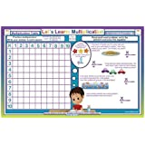 Tot Talk Let's Learn Multiplication Activity Educational Placemat for Kids
