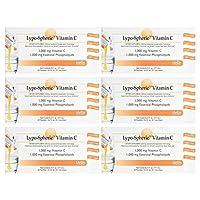 6箱セット 液状サプリメント リポスフェリック ビタミンC 30包 Lypo-Spheric Vitamin C, 30 Packets - set of 6 [並行輸入品]