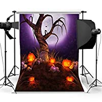 ハロウィン かぼちゃ 墓地 背景 写真背景 コスプレ背景 スタジオ背景 by Ungfu Mall