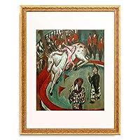 エルンスト・ルートヴィヒ・キルヒナー Ernst Ludwig Kirchner 「Zirkusreiterin」 額装アート作品
