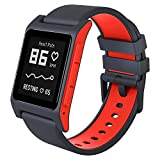 Pebble 2 + Heart Rate HR Smart Watch Black Flame ぺブル 心拍計 スマートウォッチ ブラック フレイム [並行輸入品]