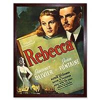 Advertising Movie Film Rebecca Olivier Fontaine Art Print Framed Poster Wall Decor 12X16 Inch 広告映画膜ポスター壁デコ